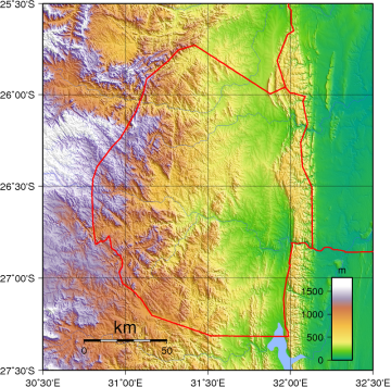 Swaziland_Topography